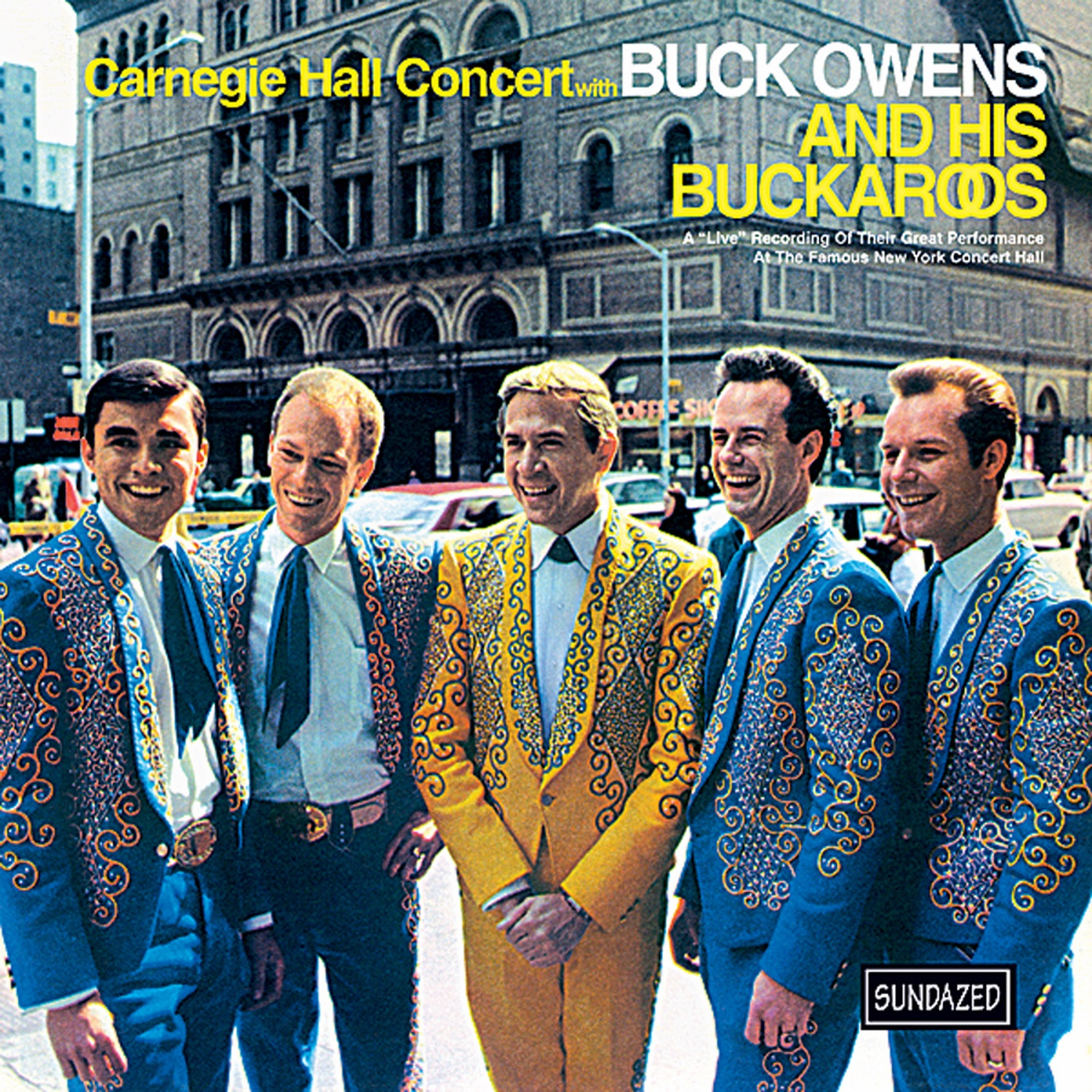 Owens, Buck and His Buckaroos - Carnegie Hall Concert CD