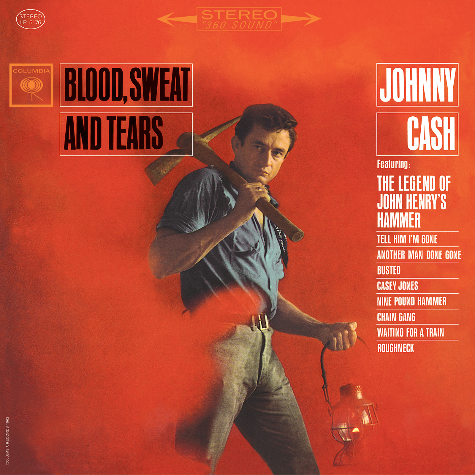 Cash, Johnny - Blood, Sweat And Tears LP