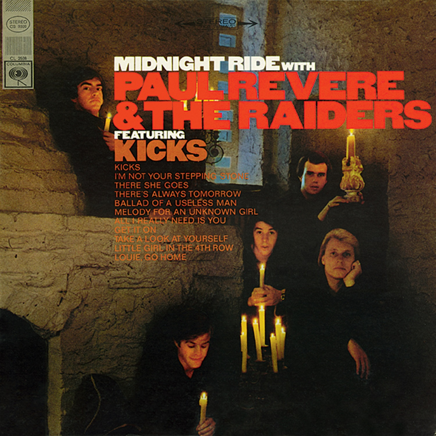 Paul Revere & the Raiders - Midnight Ride - CD