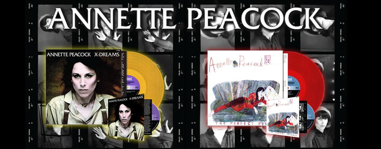 Annette Peacock Reissues!
