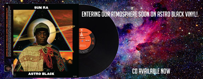 Sun Ra Astro Black on black vinyl