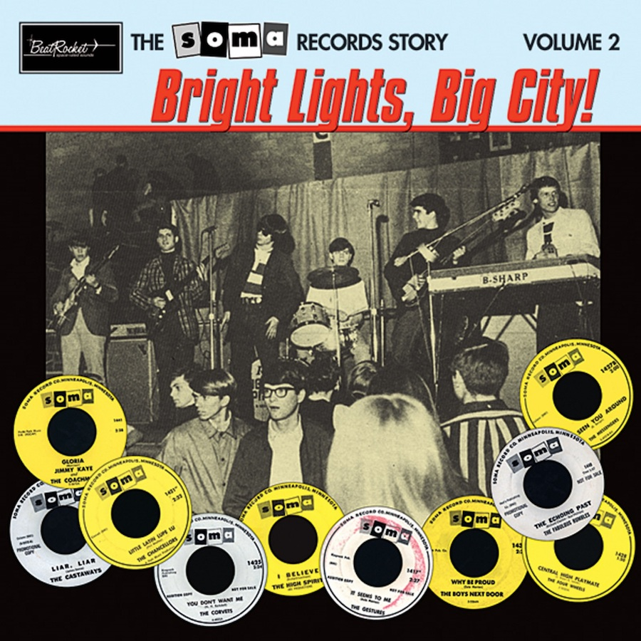 Various Artists - The Soma Records Story - The Soma Records Story Vol. 2-Bright Lights, Big City! LP