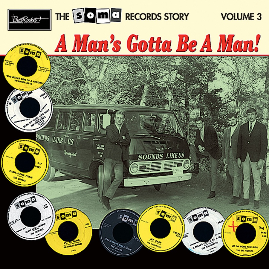Various Artists - The Soma Records Story - The Soma Records Story-Vol. 3-A Man's Gotta Be A Man! LP
