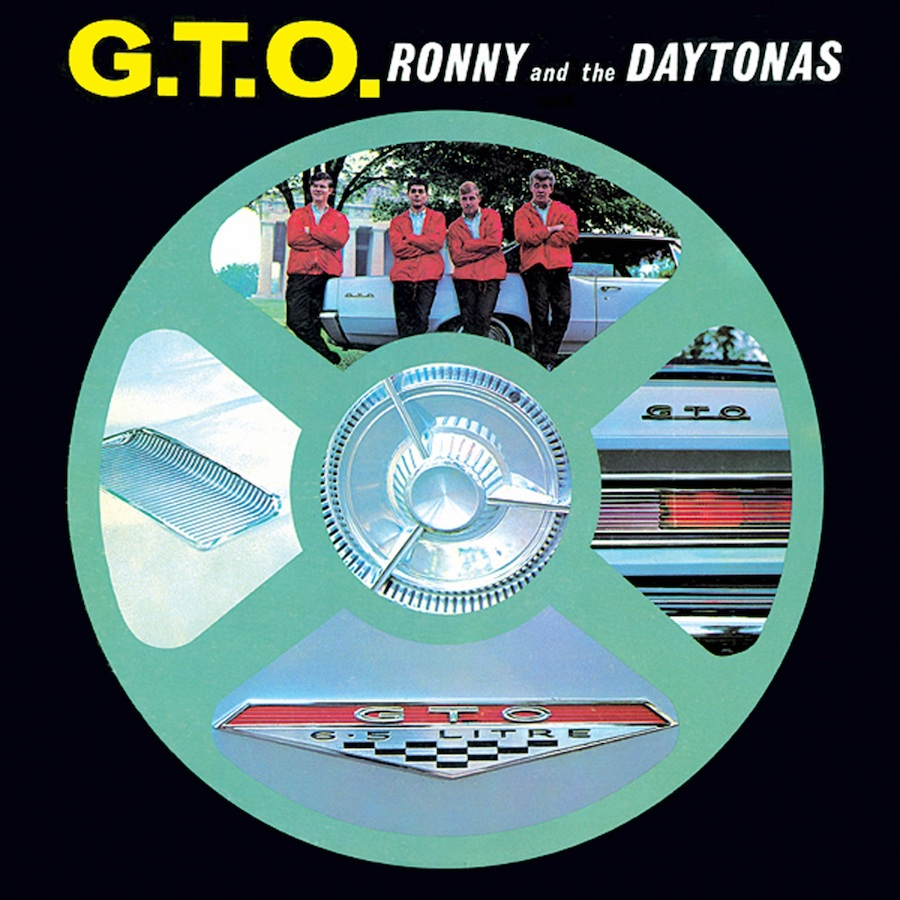 Ronny & the Daytonas - G.T.O. - COLORED VINYL LP - BR 119-CLR