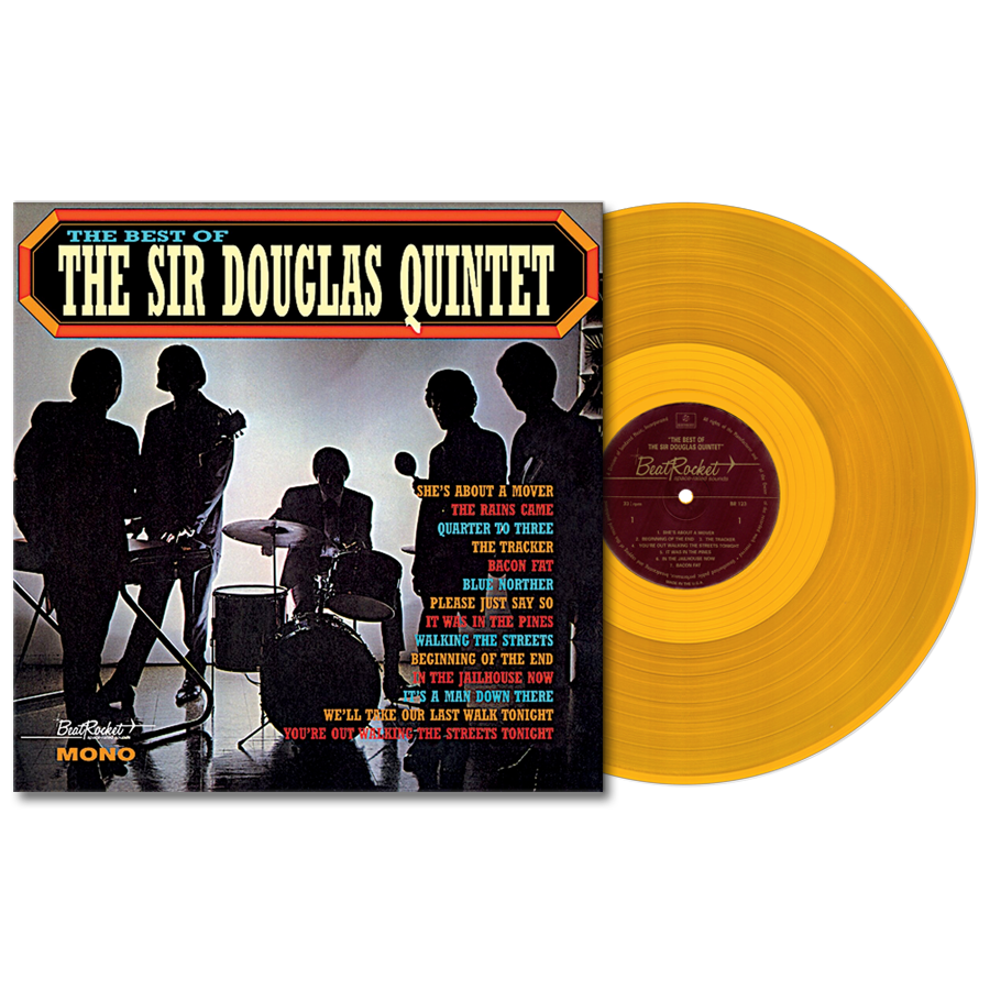 Sir Douglas Quintet - The Best of The Sir Douglas Quintet - LIMITED EDITION COLORED VINYL LP