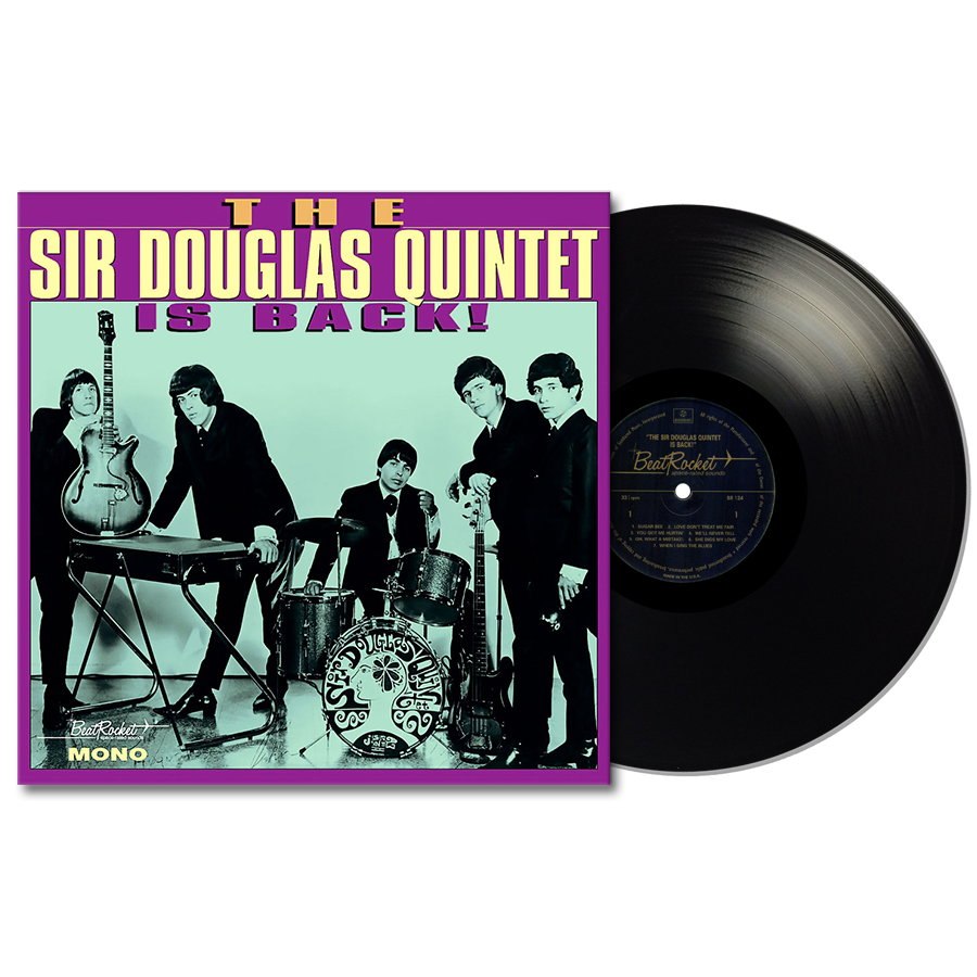 Sir Douglas Quintet - The Sir Douglas Quintet Is Back! LP
