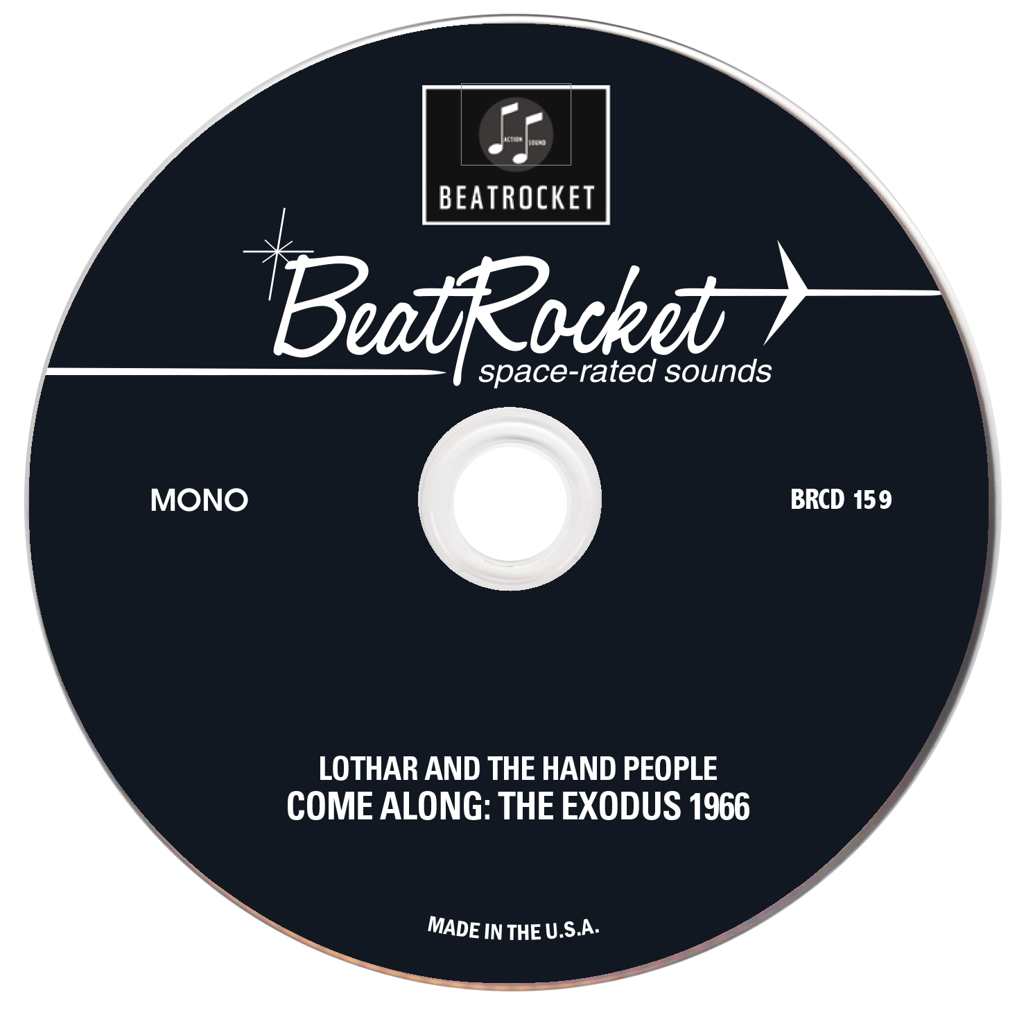 Lothar And The Hand People - Come Along: The Exodus 1966 - CD - CD-BEAT-159