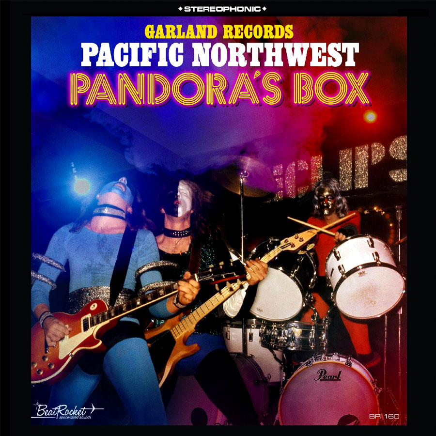 Garland Records - Pacific Northwest Pandora's Box - Opaque Blue LP - LP-BEAT-160LE