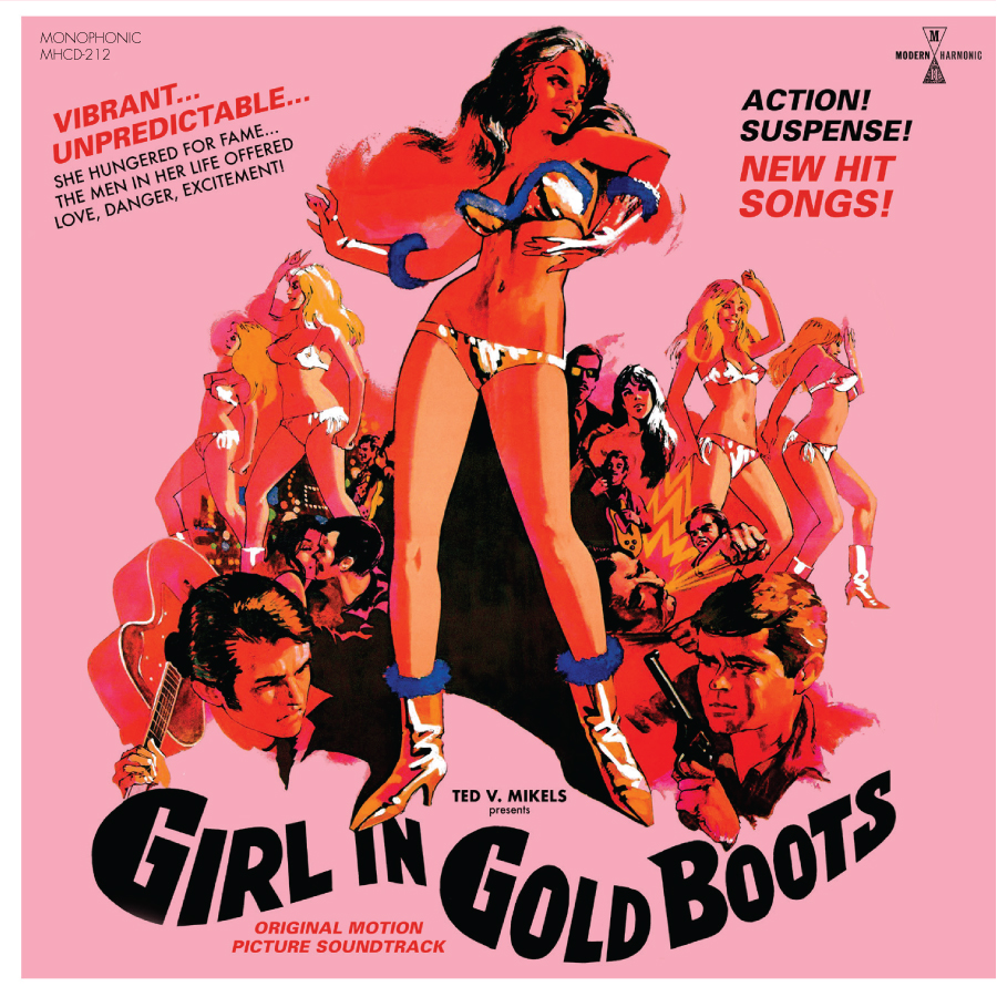 Girl In Gold Boots - Original Motion Picture Soundtrack - CD + DVD - CD-MH-212