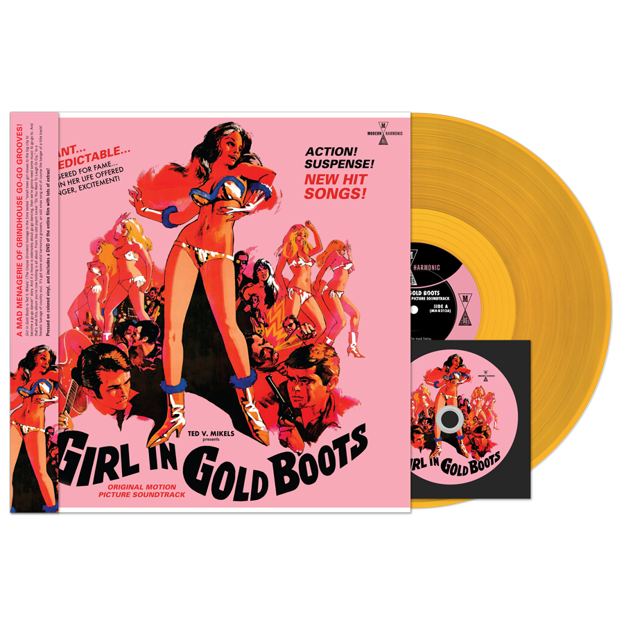 Girl In Gold Boots - Original Motion Picture Soundtrack - LP + DVD