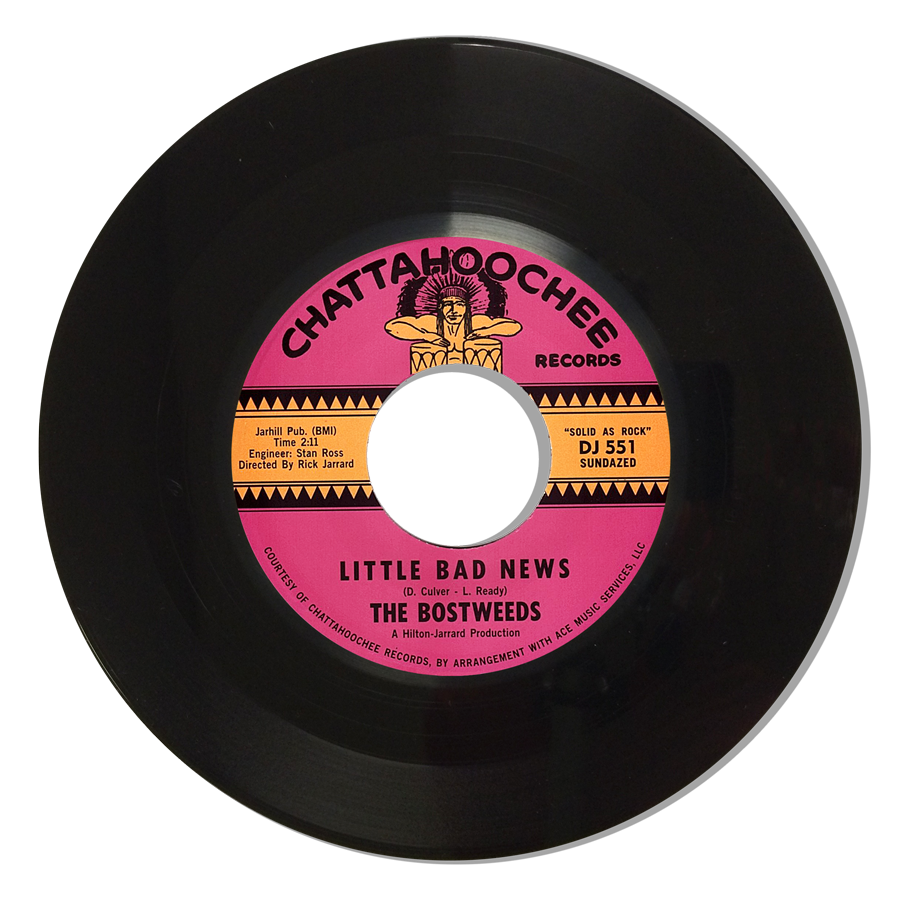 "Bostweeds, The - Little Bad News / Simple Man - 7"" Single"