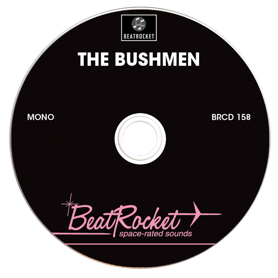 Bushmen, The - The Bushmen - CD - CD-BEAT-158