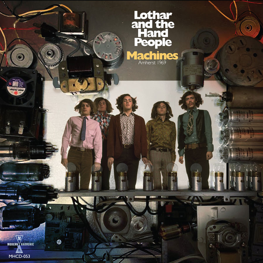 Lothar And The Hand People - Machines: Amherst 1969 - CD - CD-MH-053