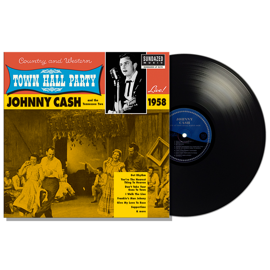 Cash, Johnny - Johnny Cash Live At Town Hall Party 1958! LP