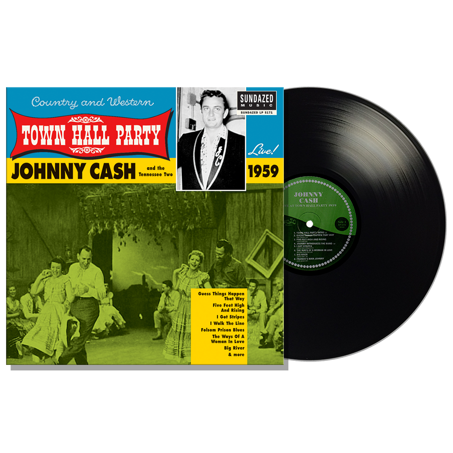 Cash, Johnny - Johnny Cash Live At Town Hall Party 1959! LP