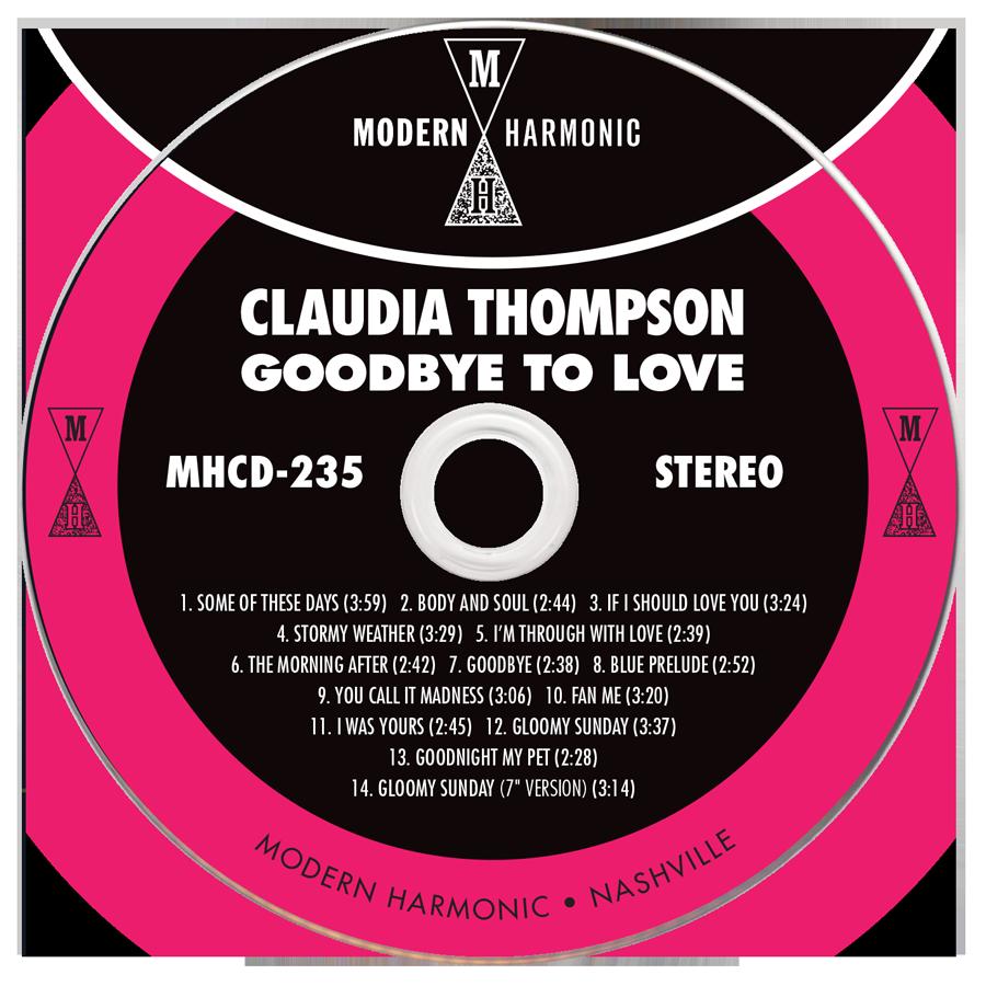 Thompson, Claudia - Goodbye To Love - LP