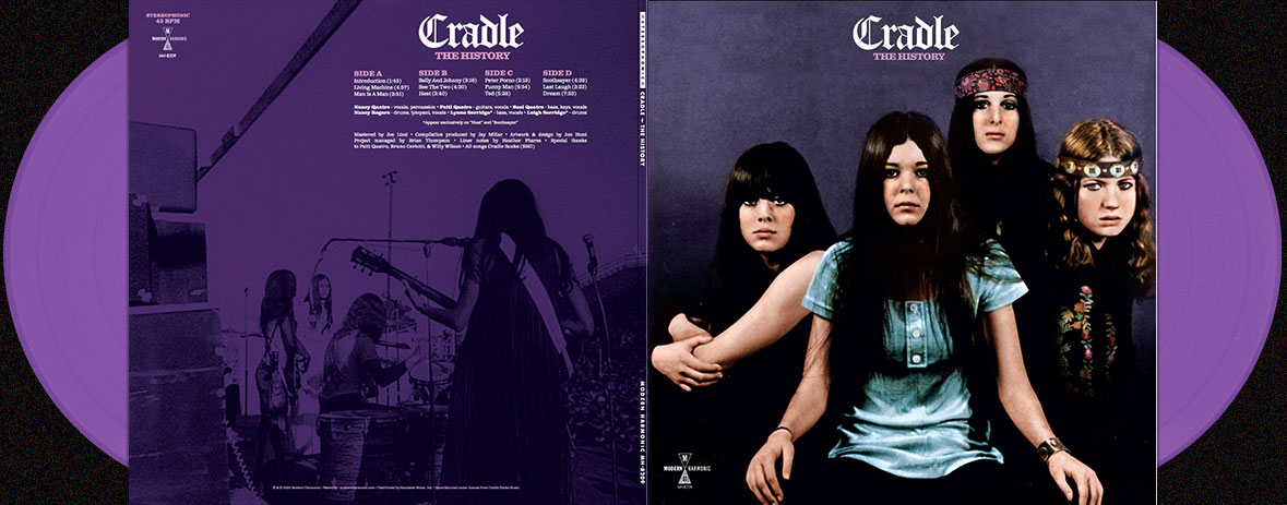 Cradle double LP or CD