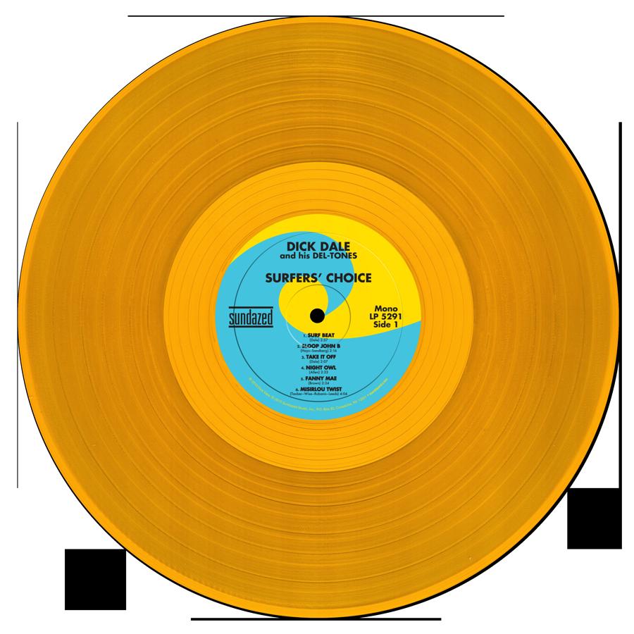 Gold Vinyl LP