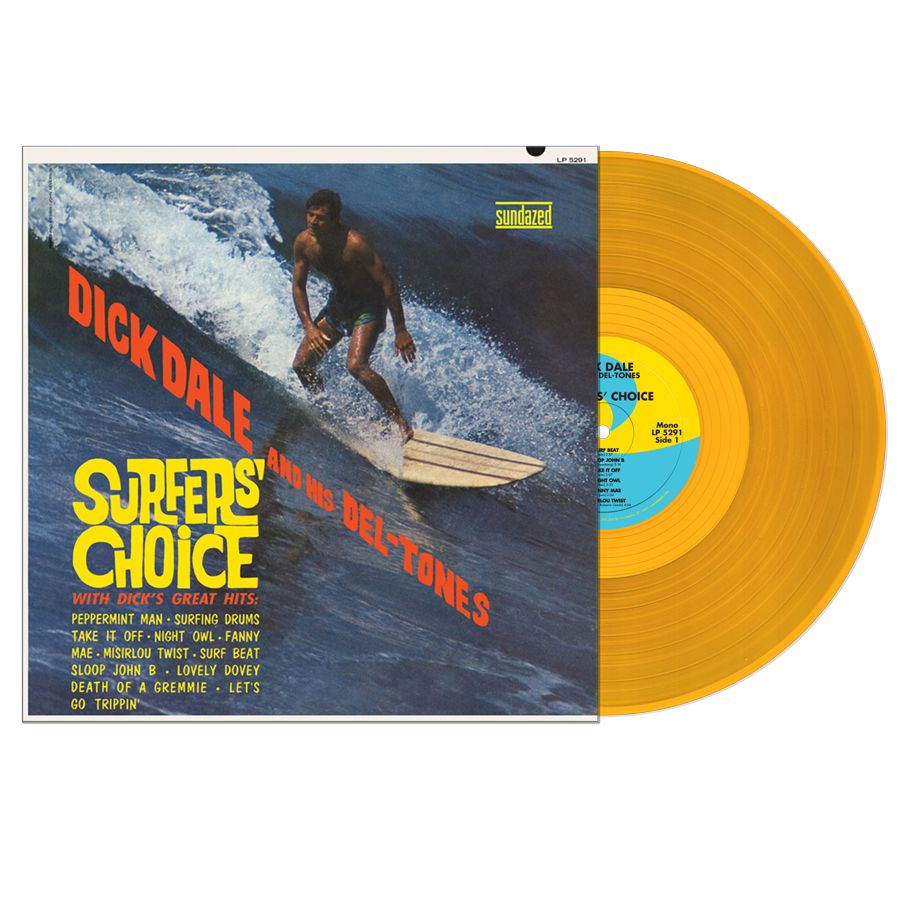 Dick Dale and His Del-Tones - Surfers Choice LP