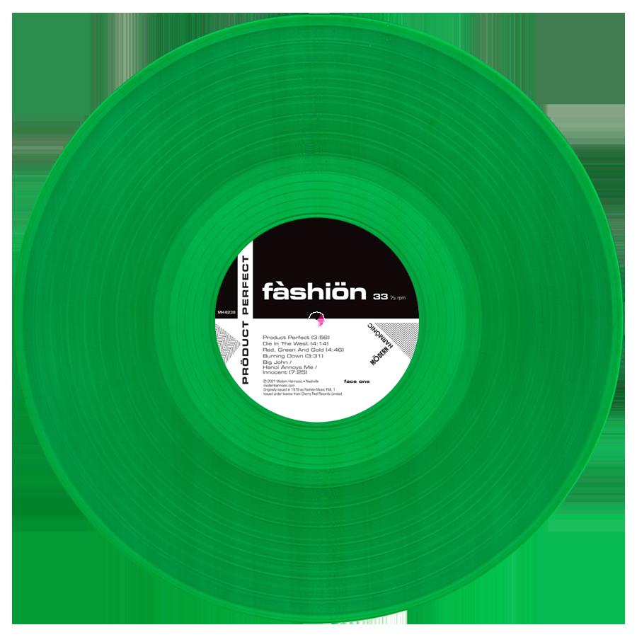 Fashion - Product Perfect - Green Vinyl LP - LP-MH-8238