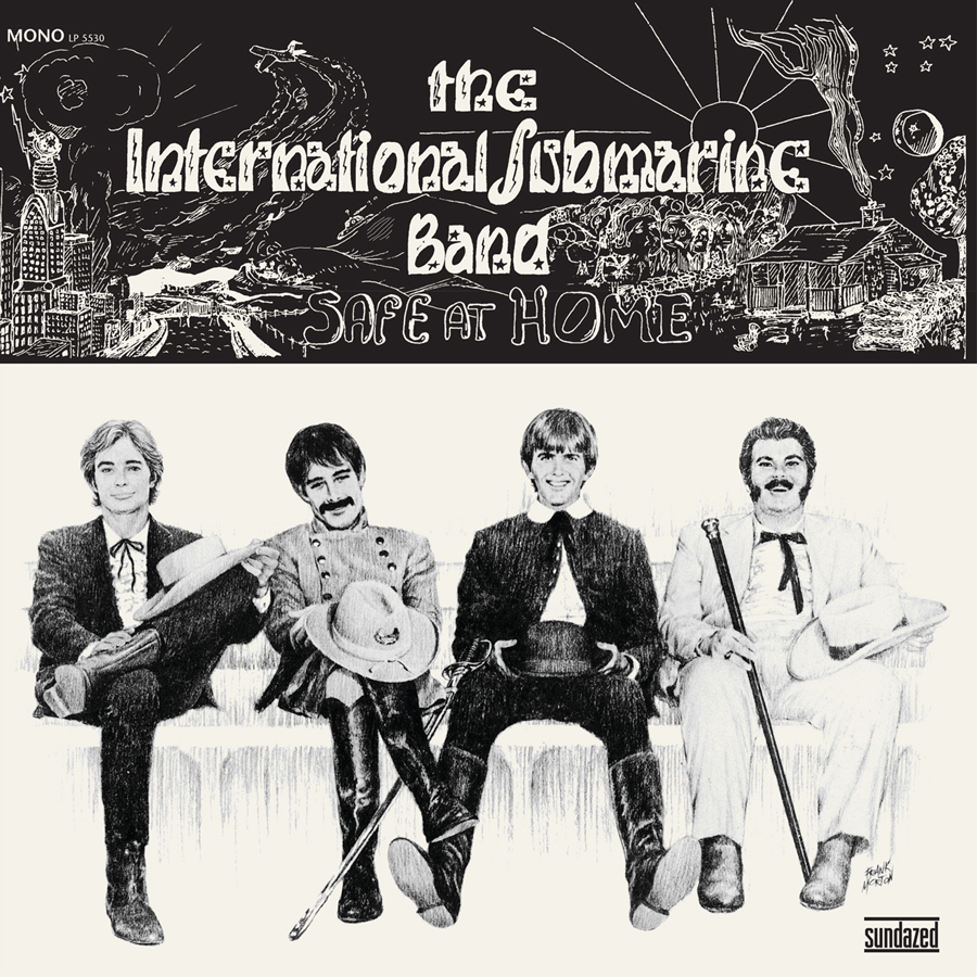 International Submarine Band (featuring Gram Parsons), The - Safe At Home - Limited Mono Edition White Vinyl  - LP 5530