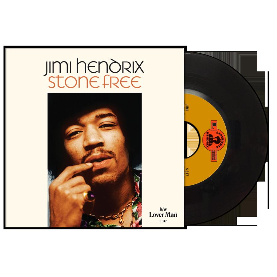 "Hendrix, Jimi - Stone Free / Lover Man - 7"" Single"