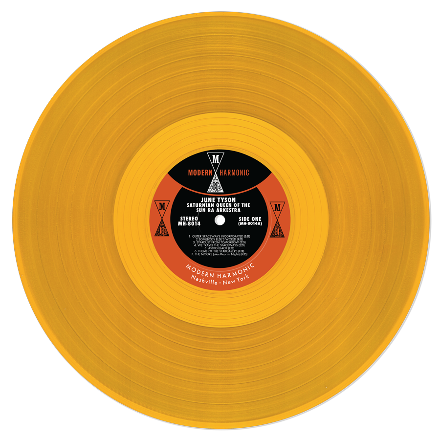Sun Ra - Hot Dog Sauce - Shirt & June Tyson - Saturnian Queen Of The Sun Ra Arkestra LP - MTS-MH-001-Bundle