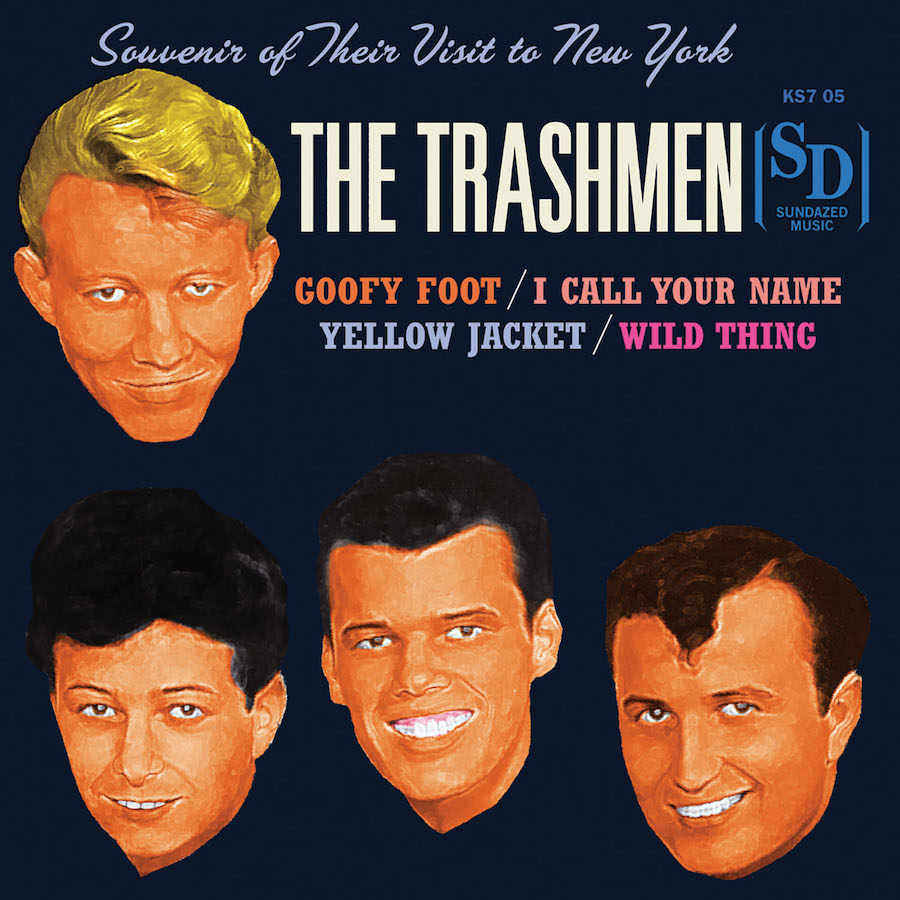 "Trashmen, The - Souvenir of Their Visit to New York 7"" EP"