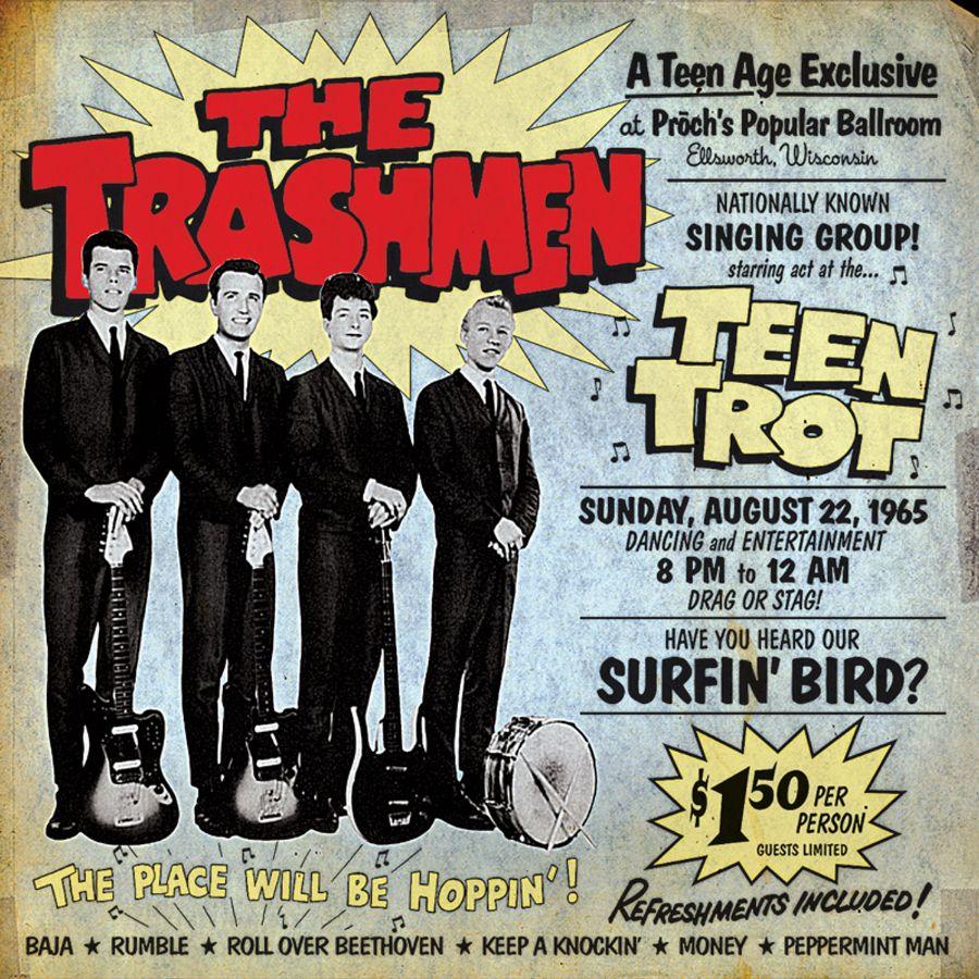Trashmen, The - Teen Trot: Unissued Live 64! - CD