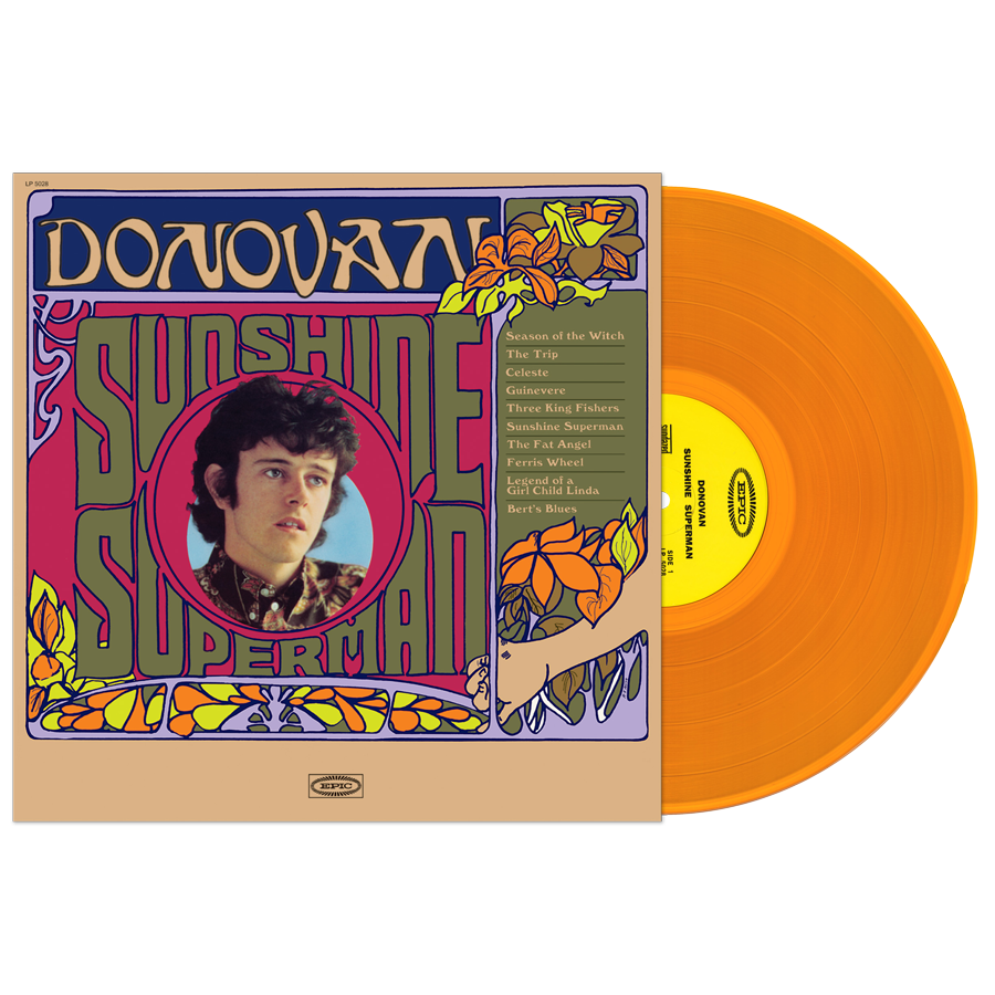 Donovan - Sunshine Superman MONO EDITION LP - LP 5028