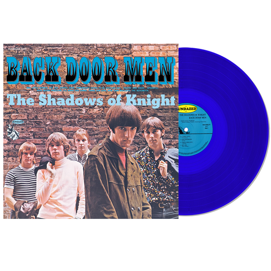 Shadows of Knight, The - Back Door Men LP Blue vinyl!