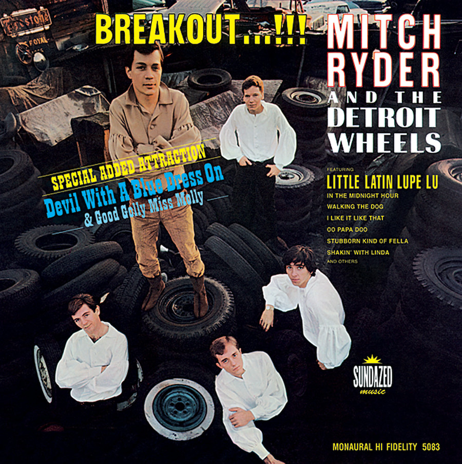 Ryder, Mitch & The Detroit Wheels - Breakout...!!! MONO Edition LP