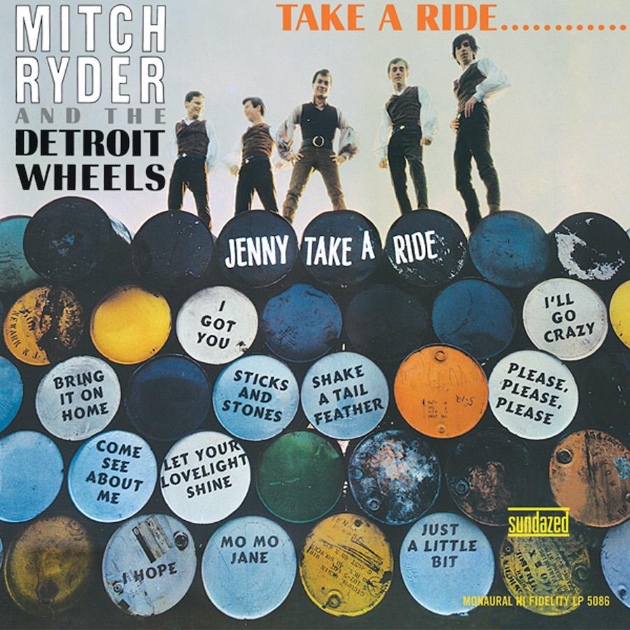 Ryder, Mitch & The Detroit Wheels - Take A Ride... MONO Edition LP