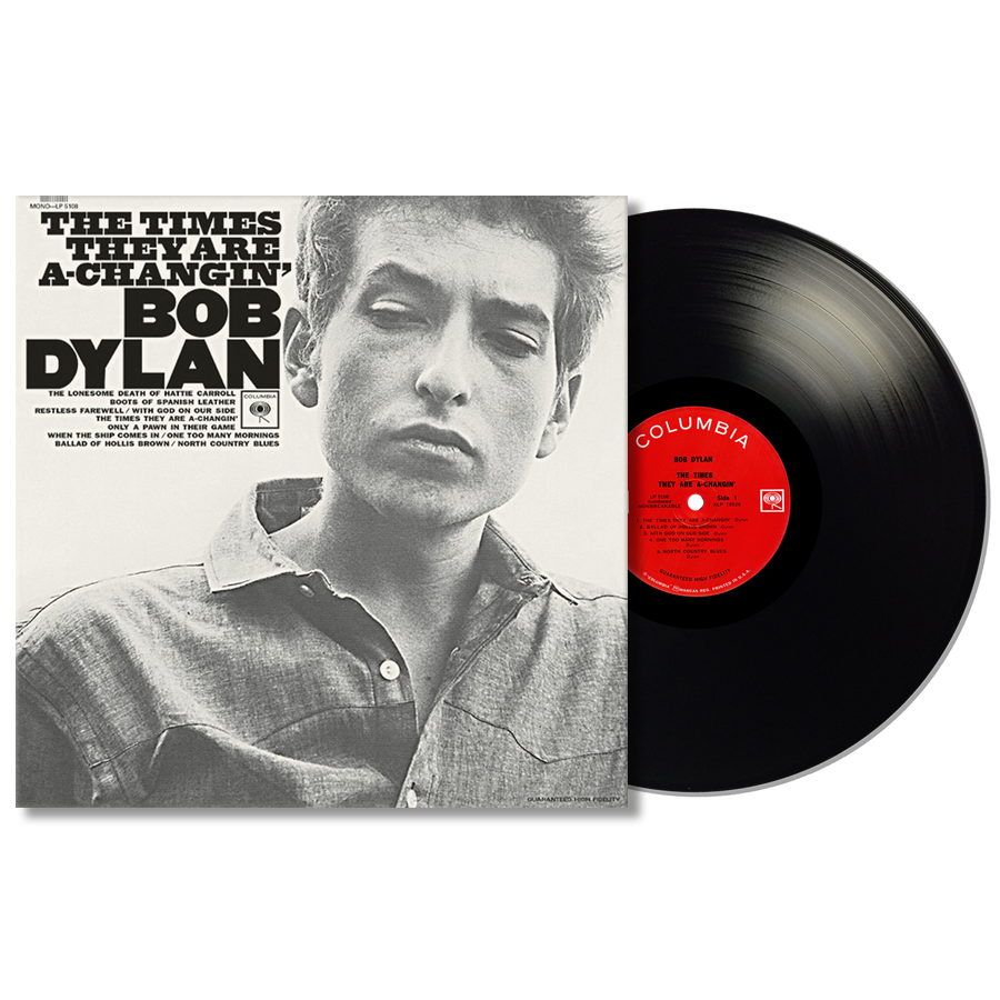 Dylan, Bob - The Times They Are A-Changin Mono Edition LP