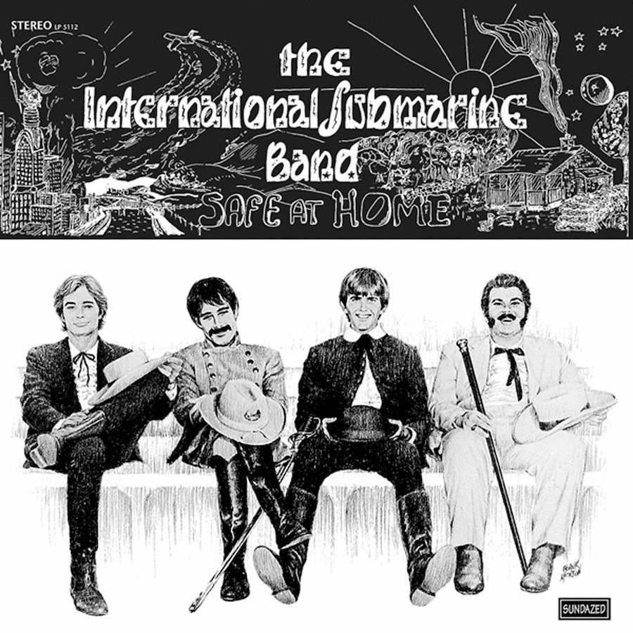 International Submarine Band (featuring Gram Parsons), The - Safe At Home LP