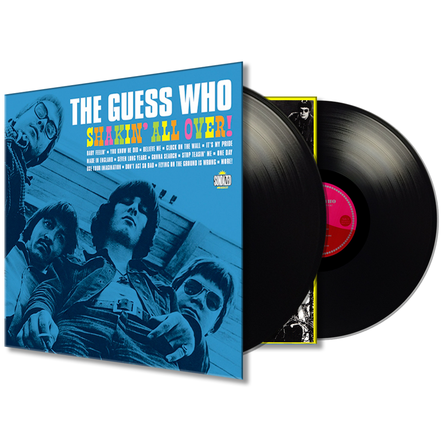 Guess Who, The - Shakin All Over! 2-LP Set