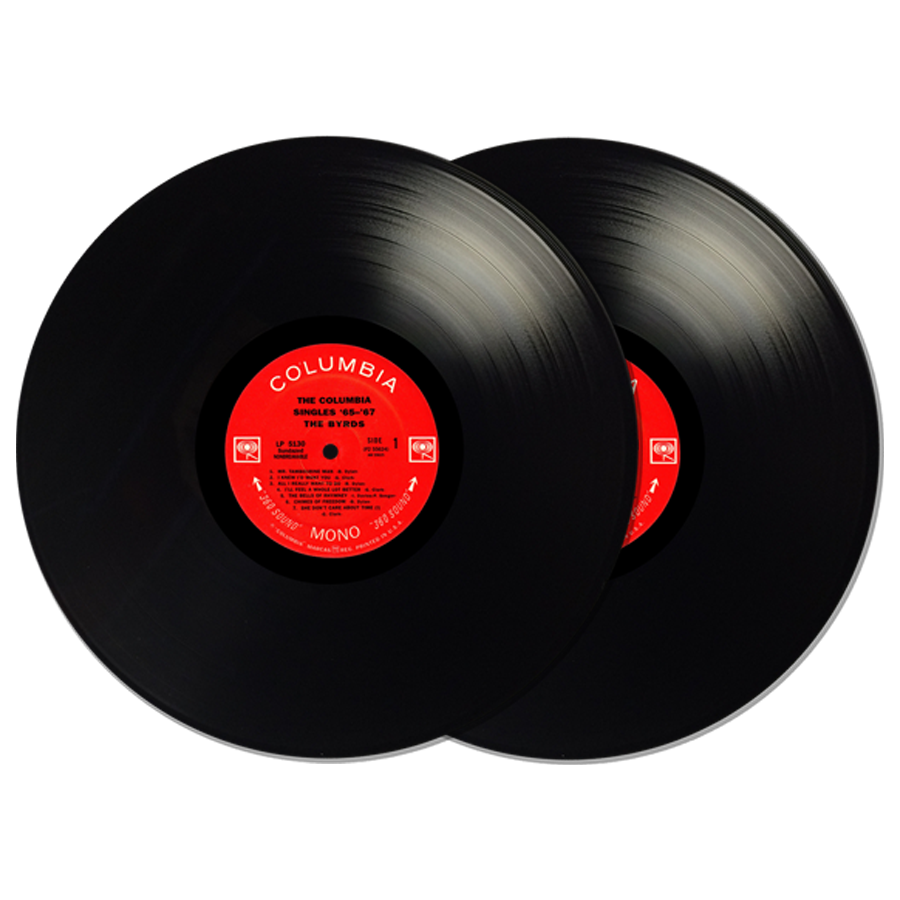 Byrds, The - The Columbia Singles '65-'67 2-LP Set - LP 5130