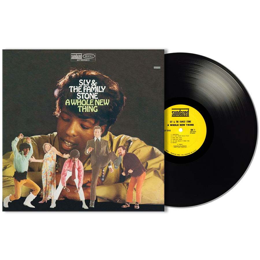 Sly & The Family Stone - A Whole New Thing LP