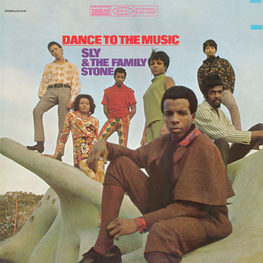 Sly & The Family Stone - Dance to the Music LP - LP 5144