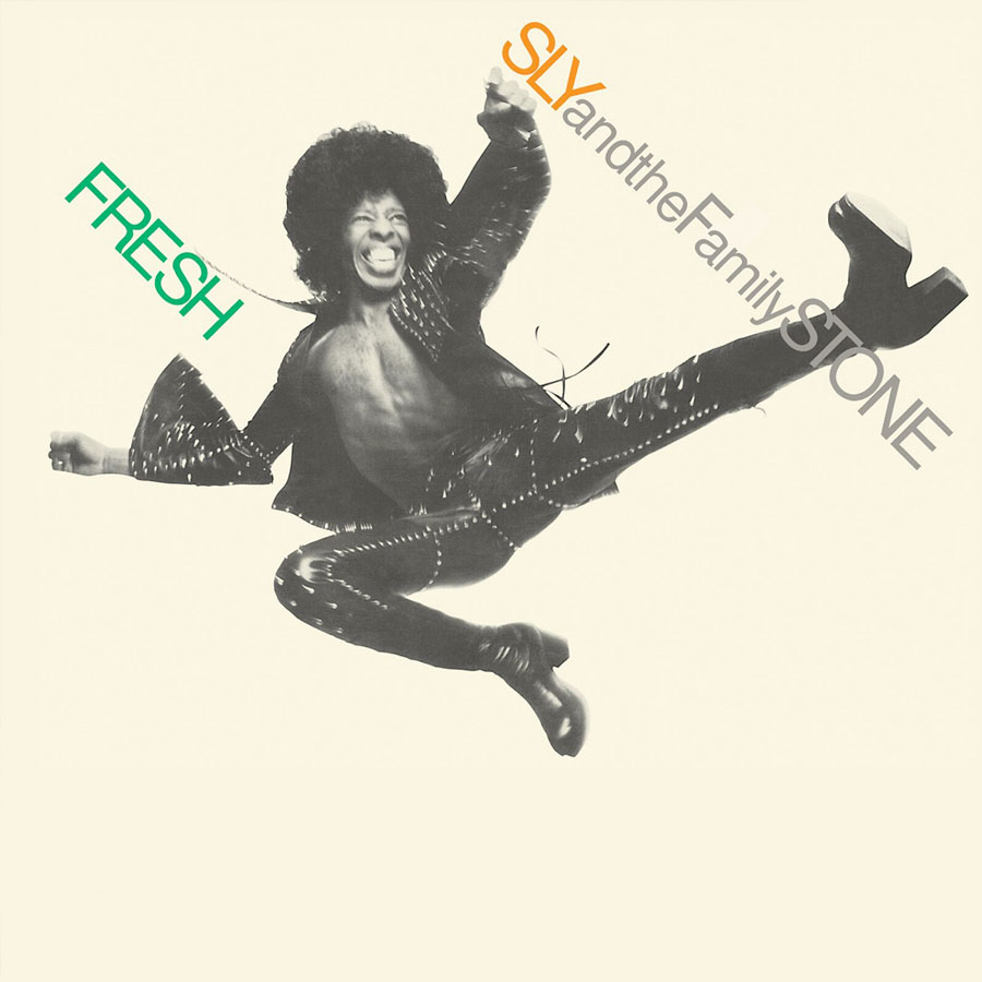 Sly & The Family Stone - Fresh LP - LP 5148
