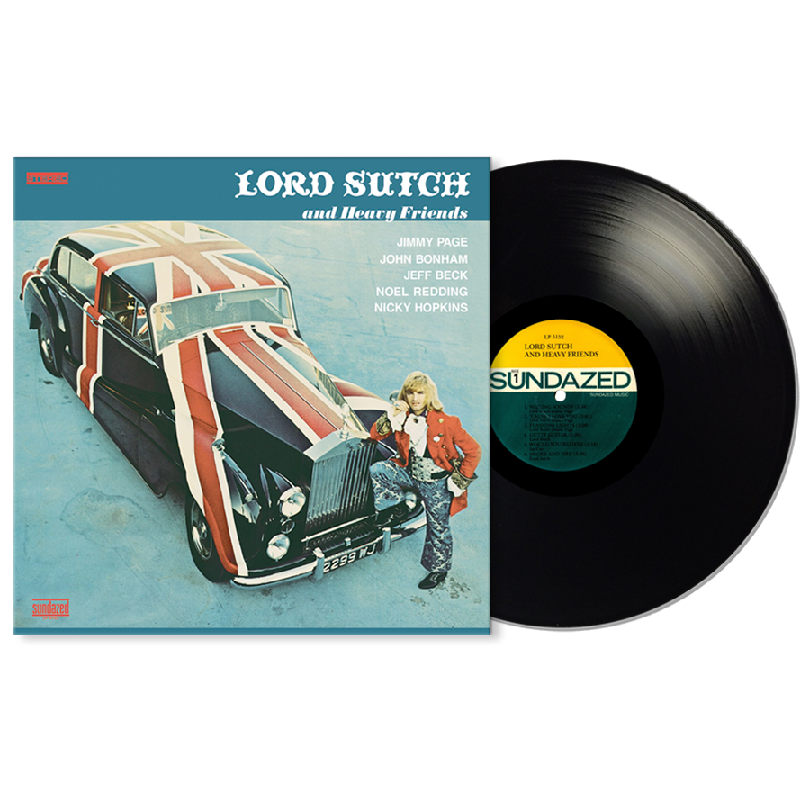 Lord Sutch - Lord Sutch & Heavy Friends LP
