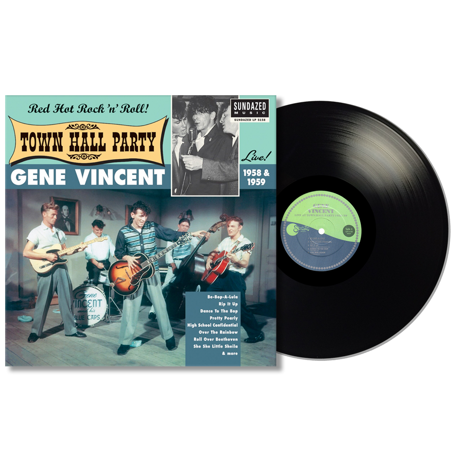 Vincent, Gene - Gene Vincent Live At Town Hall Party 1958 & 1959 LP