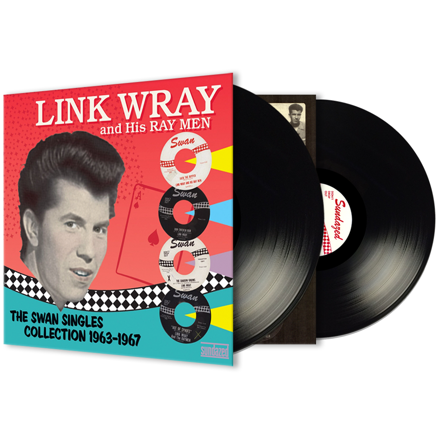 Wray, Link - The Swan Singles Collection 63-67 2-LP Set