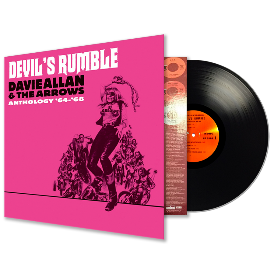 Allan, Davie - Devils Rumble: Anthology 64-68 - LP