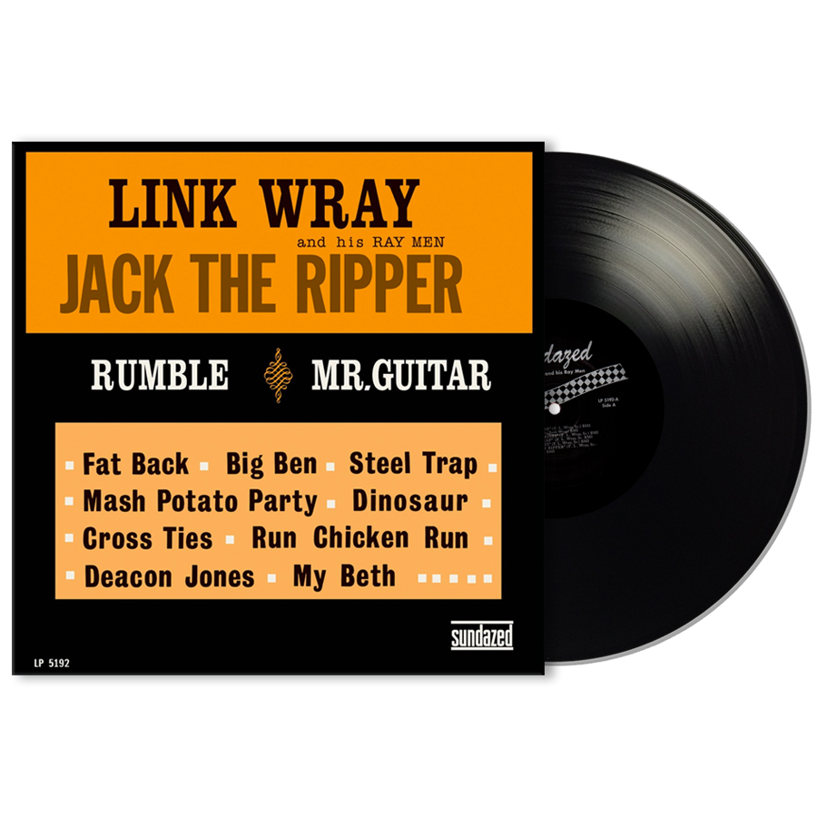Wray, Link - Jack The Ripper LP
