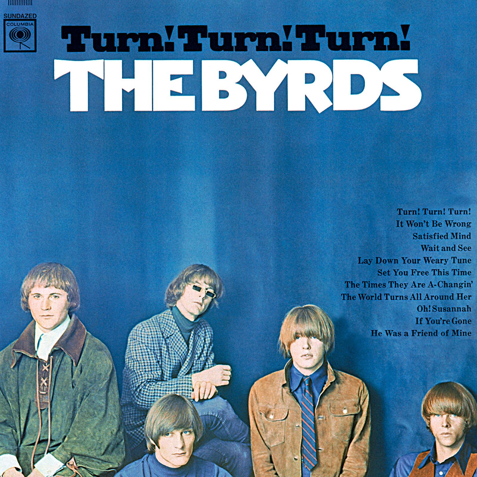 Byrds, The - Turn! Turn! Turn! MONO LP
