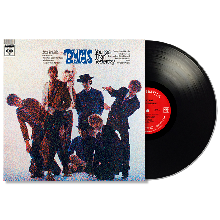 Byrds, The - Younger Than Yesterday MONO LP