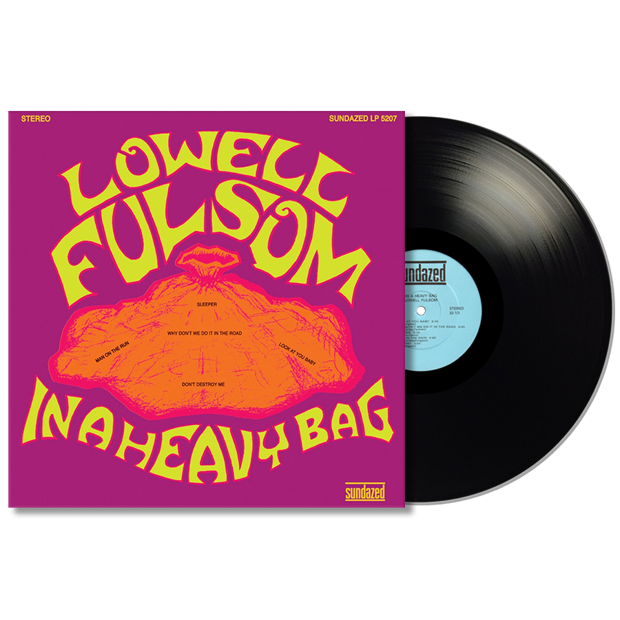 Fulsom, Lowell - In A Heavy Bag LP