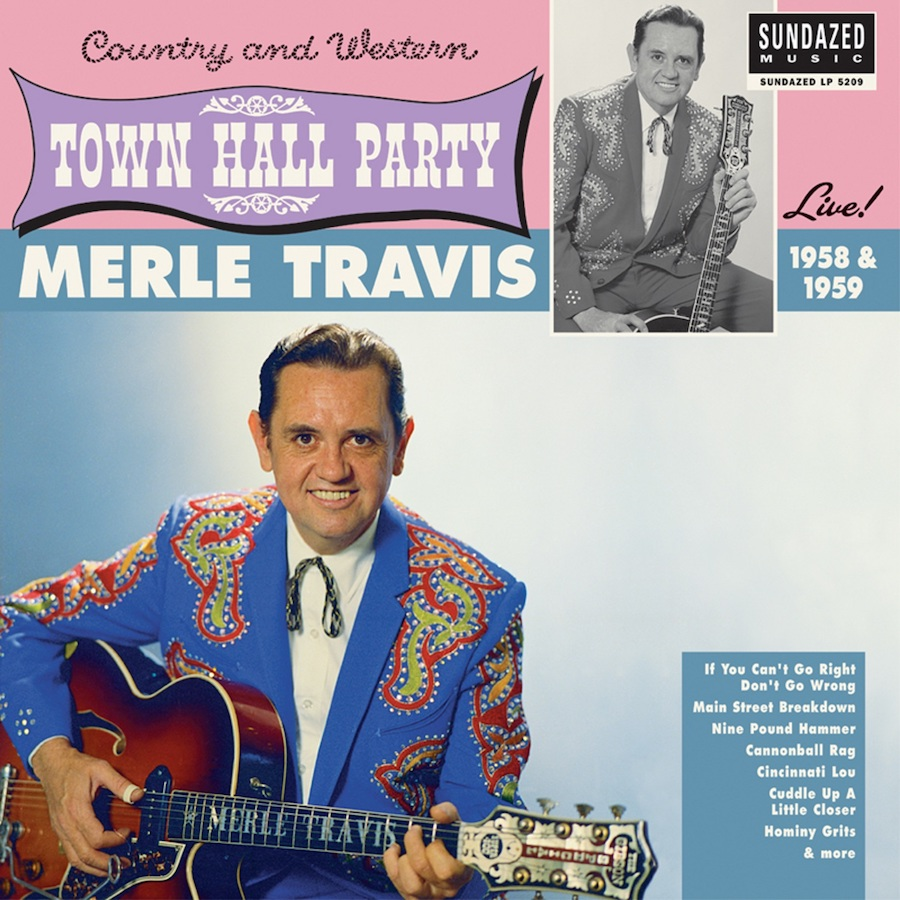 Travis, Merle - Merle Travis Live At Town Hall Party 1958 & 1959 LP