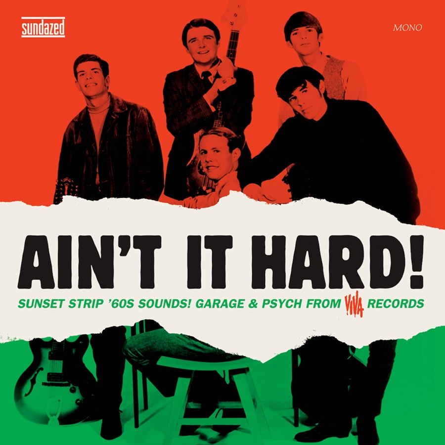 Various Artists - Aint It Hard! - Aint It Hard! Garage & Psych from Viva Records LP